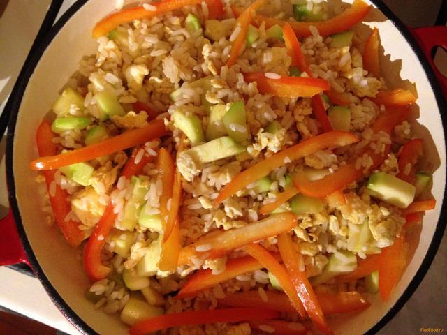 Рис с овощами рецепт по китайски