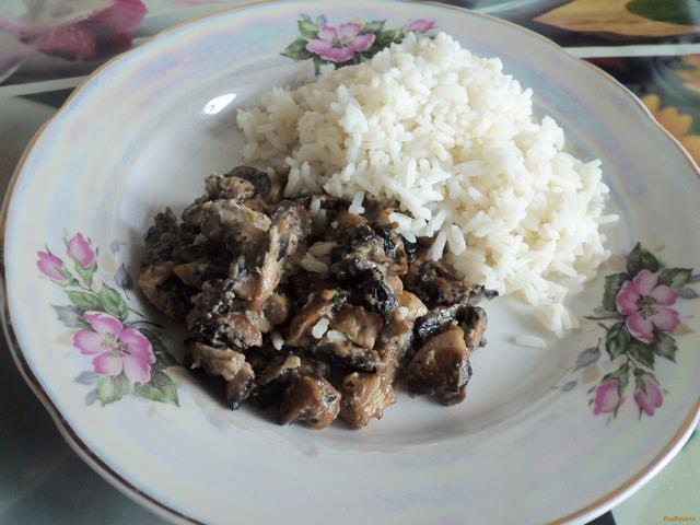 рецепты приготовления грибов в сметане в мультиварке