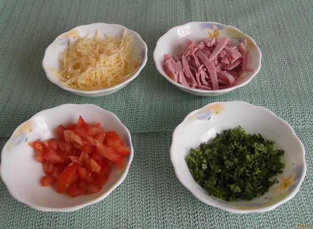 Яичный блин с начинкой рецепт с фото пошагово