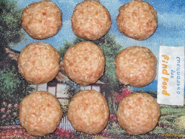 тефтели ёжики рецепт с фото пошагово