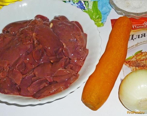 Куриная печень пошаговый рецепт