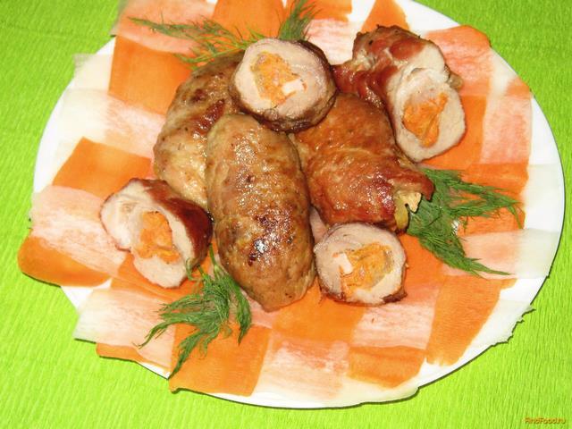 Рулет из свинины рецепты с фото пошагово