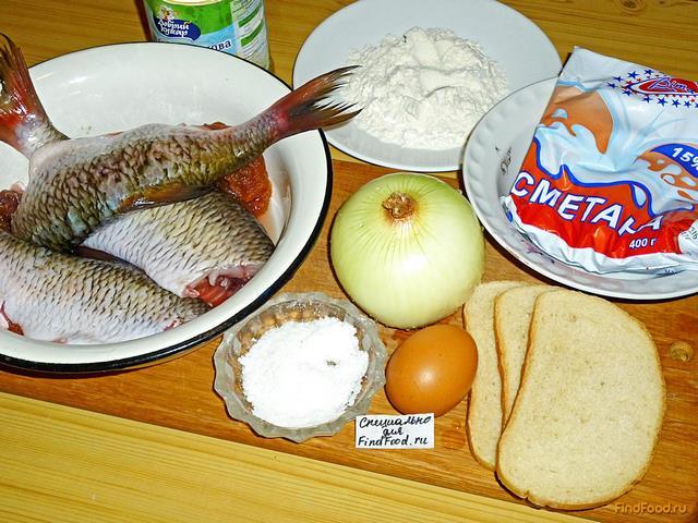 Котлеты из речной рыбы рецепт с фото 1-го шага