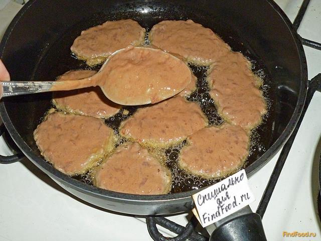 Печеночные оладьи свиная печень рецепт с фото