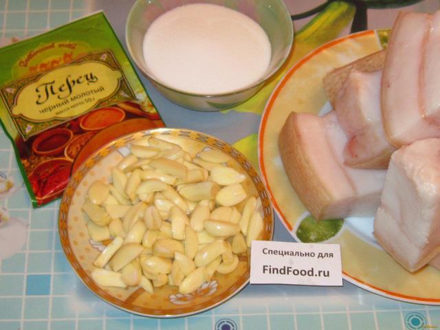 Сало рецепты с фото простые вкусные