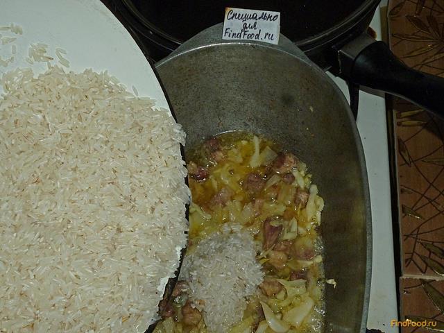 рагу с капустой и мясом рецепт с фото