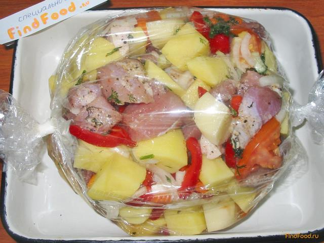 Говядина в духовке в рукаве для запекания рецепт пошагово