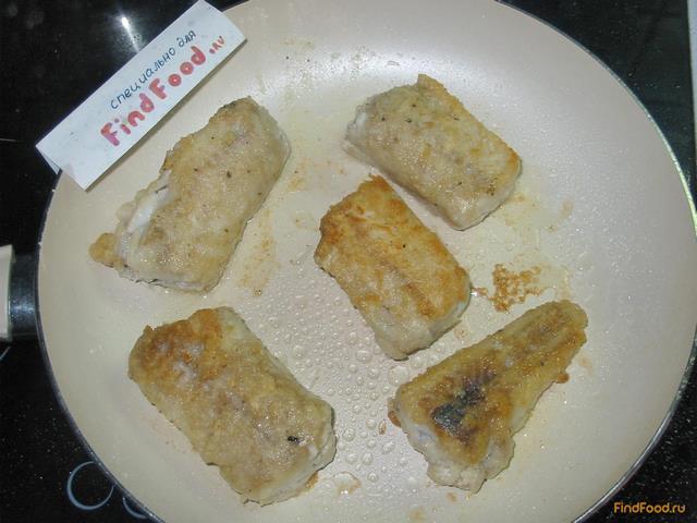 Минтай запеченный в духовке пошаговый рецепт