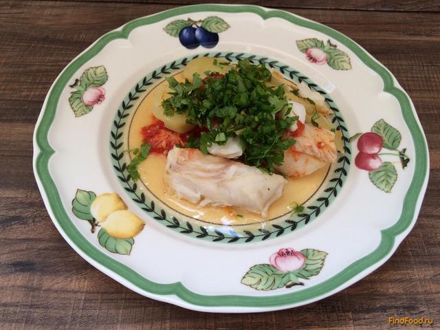 судак с овощами с духовке рецепт с фото