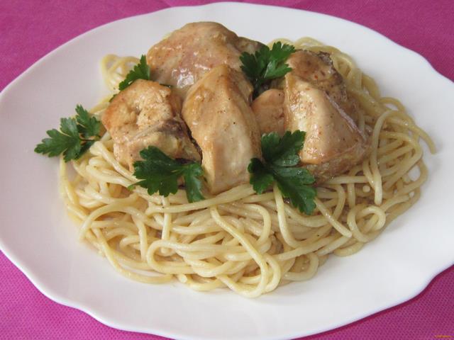 курица в сметане рецепт приготовления