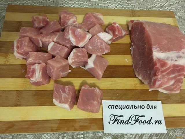 Домашний плов со свининой в казане рецепт с фото