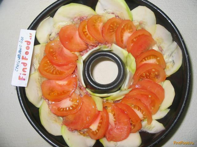 Мясной пирог с кабачками - фото 14 шага
