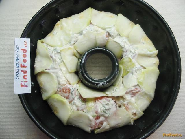 Мясной пирог с кабачками - фото 16 шага