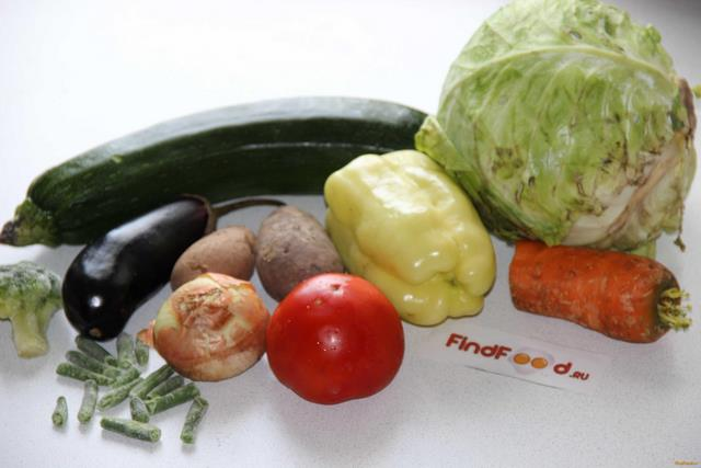 Рецепты овощных рагу без мяса