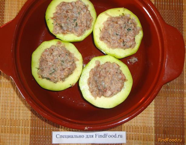 запеченные кабачки с фаршем пошаговый рецепт с фото