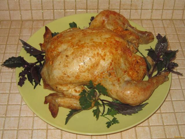 курица в пакете со сметаной рецепт