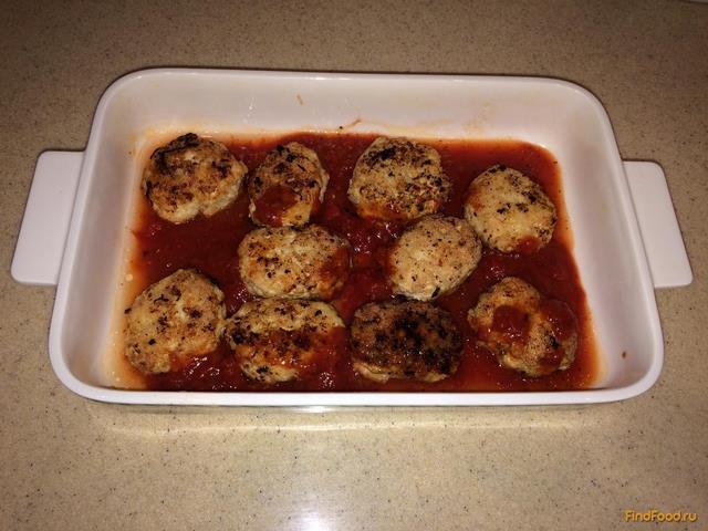 Котлеты из индейки в томатном соусе рецепт с фото 7-го шага
