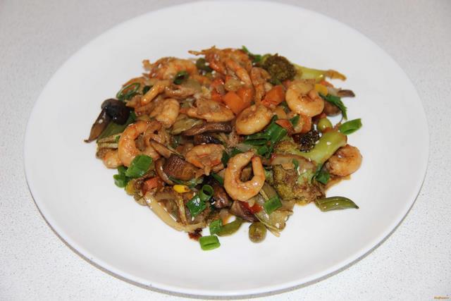 креветки в соусе рецепты приготовления с фото