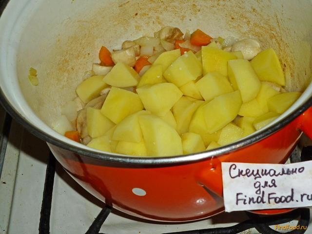 рагу из картошки кабачков и капусты