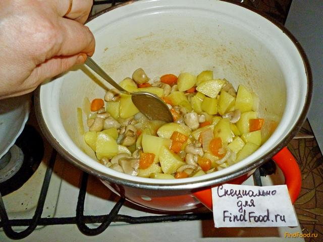 Кабачковое рагу рецепт пошагово в кастрюле