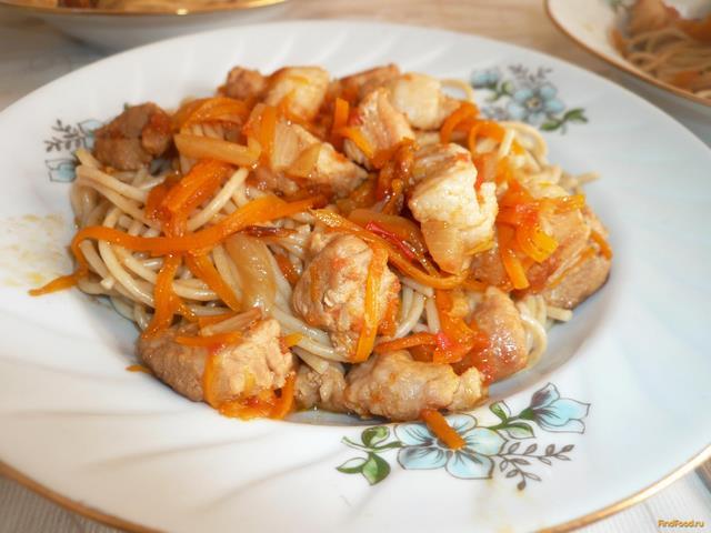 Свинина с черносливом на сковороде рецепты с морковью и луком