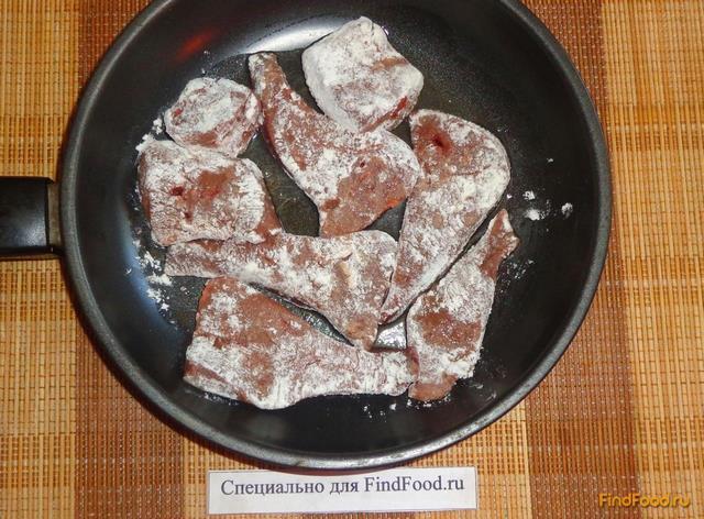 Тушёная говяжья печень рецепты с пошагово