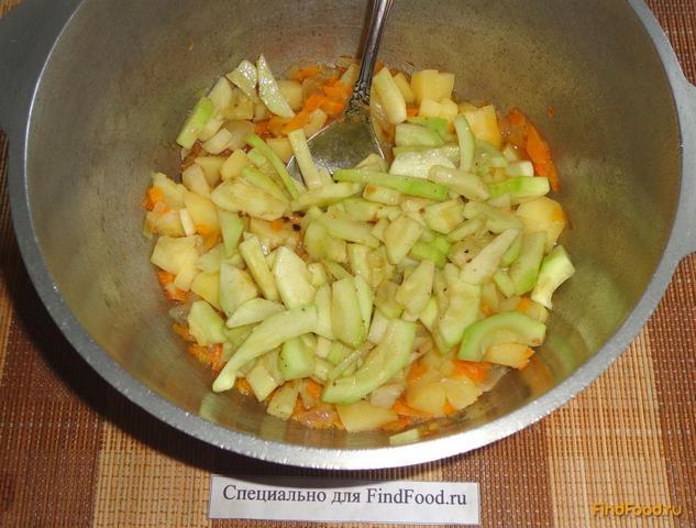 Куриная грудка тушеная с овощами рецепт с фото 12-го шага