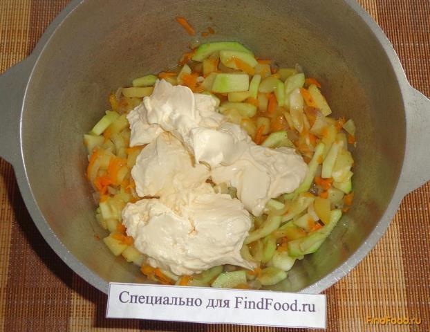 Куриная грудка тушеная с овощами рецепт с фото 13-го шага