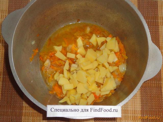 Куриная грудка тушеная с овощами рецепт с фото 9-го шага