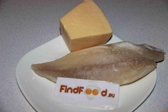 Запеченный морской язык под сыром рецепт с фото 1-го шага