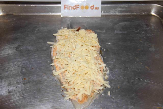 Запеченный морской язык под сыром рецепт с фото 6-го шага