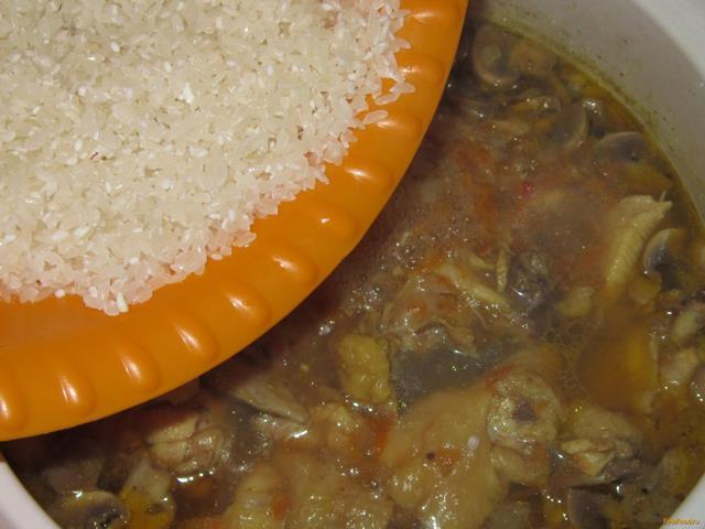 Плов в мультиварке с томатной пастой рецепты с фото