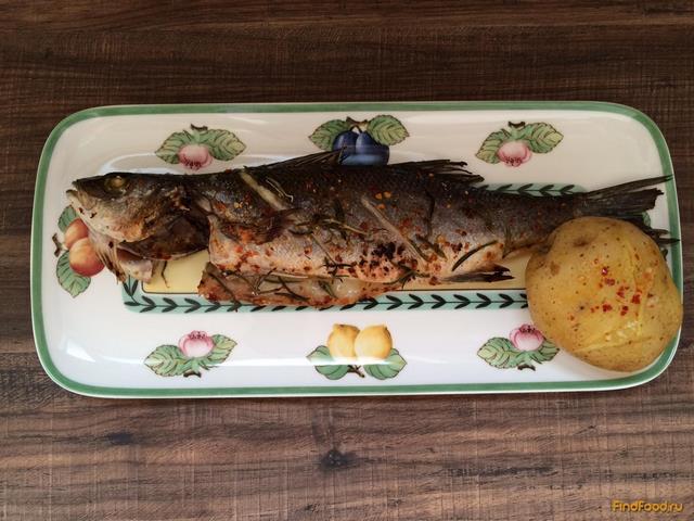 Сибас на гриле рецепт 89