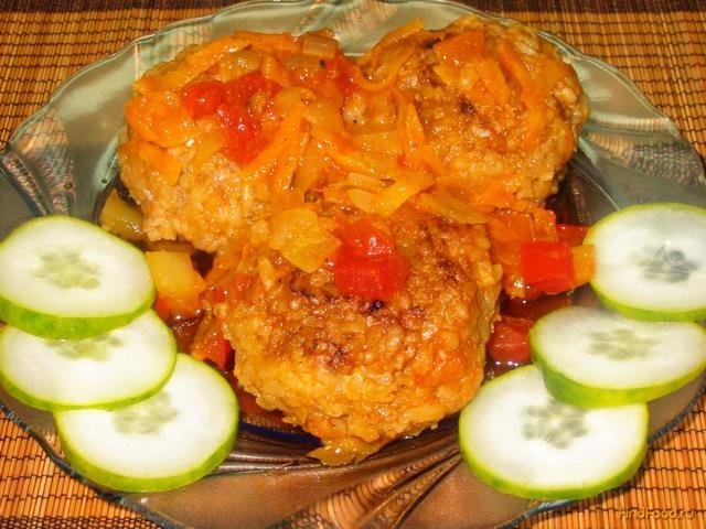 Тефтели с томатным соусом рецепт пошагово