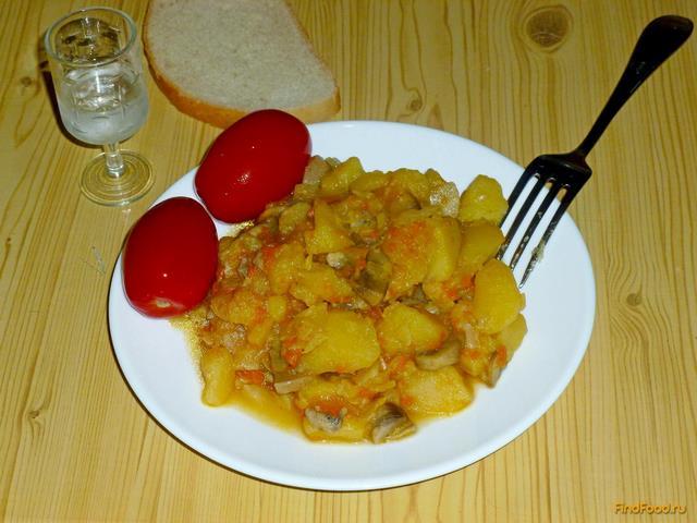 Паста из фарша и грибов для спагетти рецепт