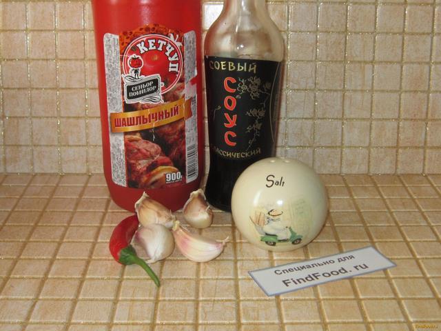 курица соевый соус в духовке рецепт с фото