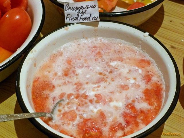 Помидоры в соусе рецепт