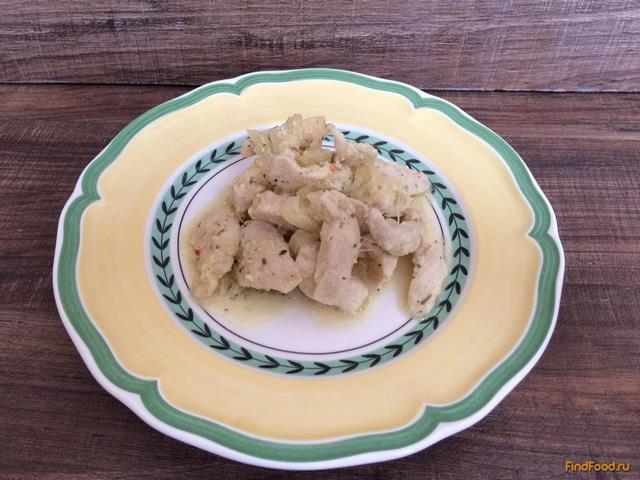 рецепты из куриной грудки со сметаной в мультиварке