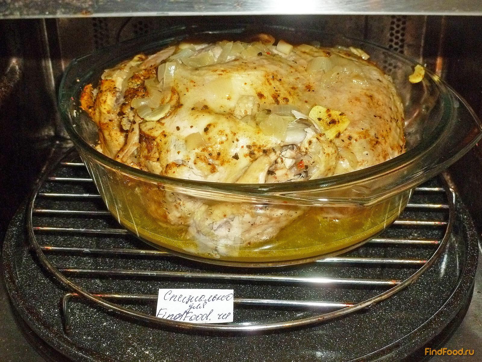 Курица с горчицей в духовке в фольге рецепты пошагово