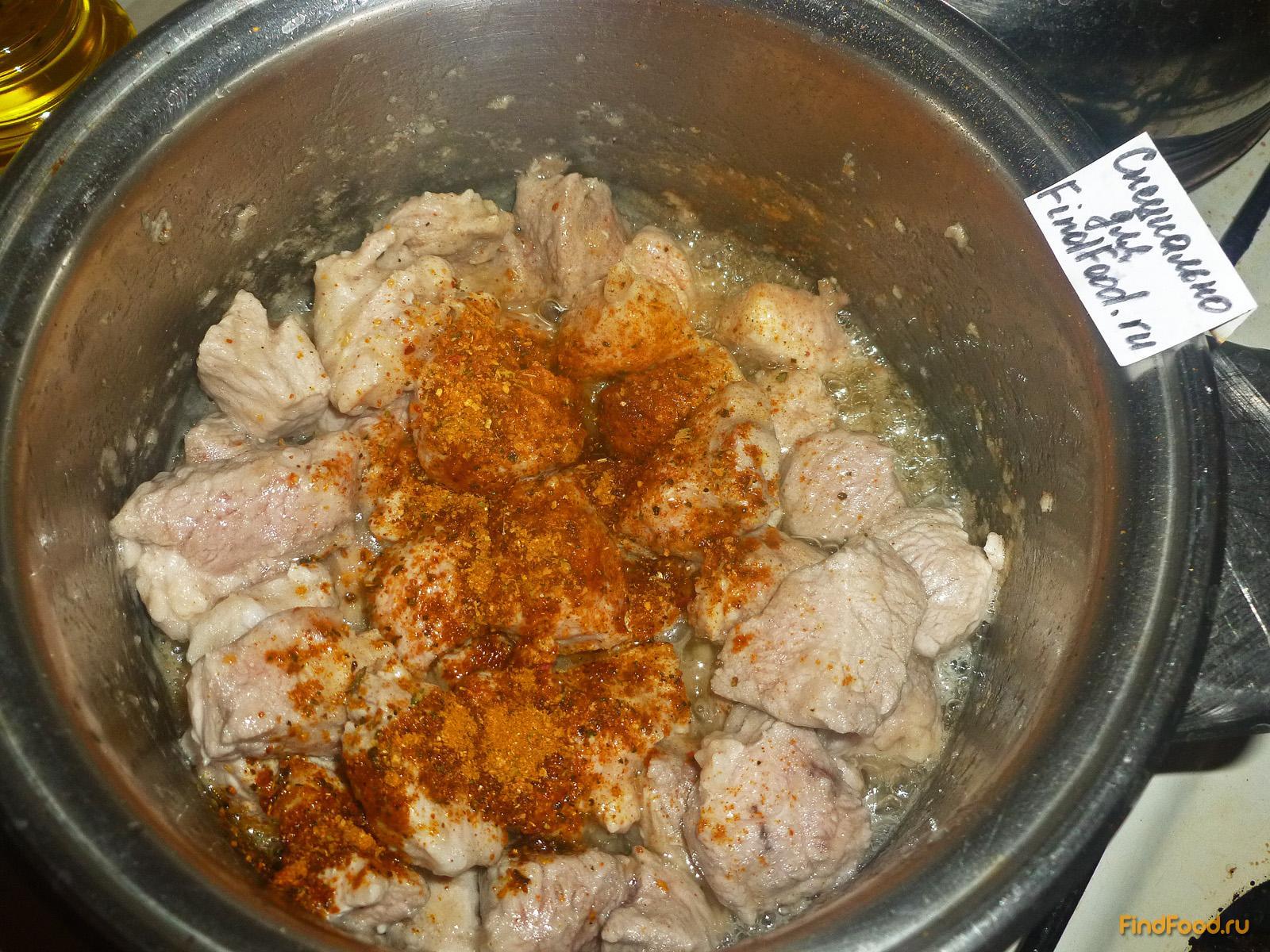Соус из свинины в мультиварке рецепт пошагово