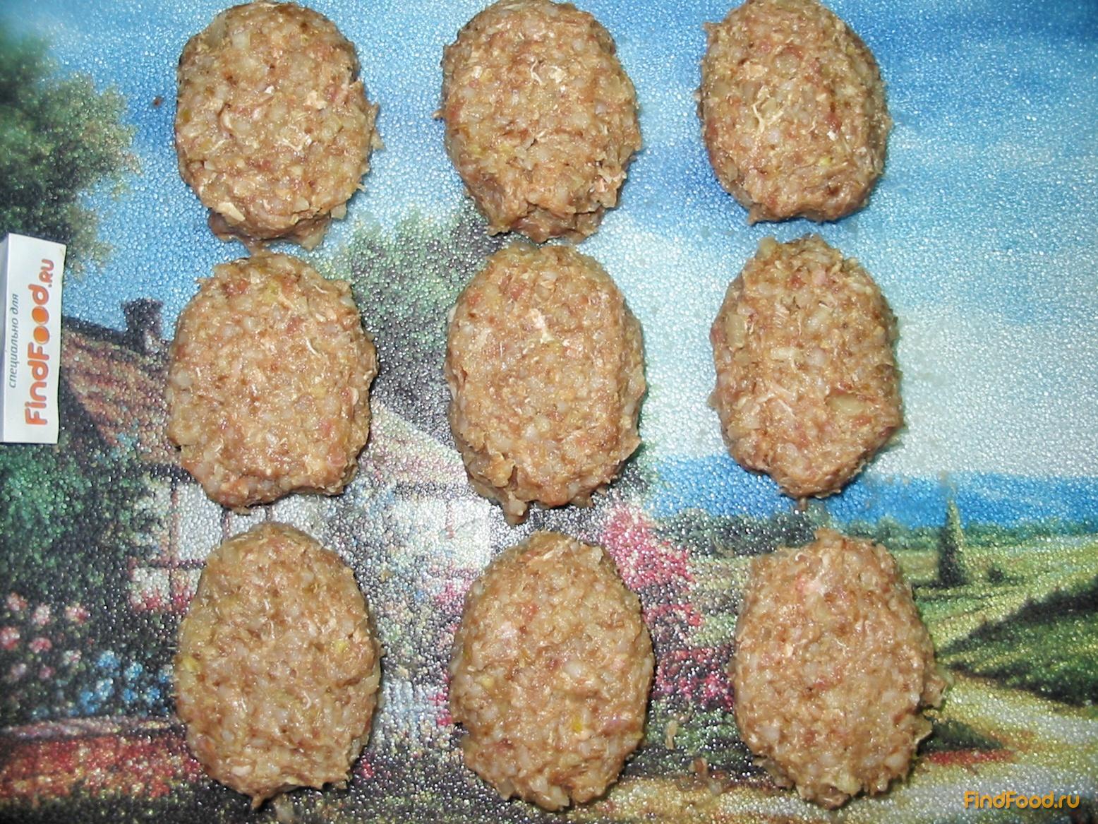 Гречаники с фаршем рецепт пошагово в духовке