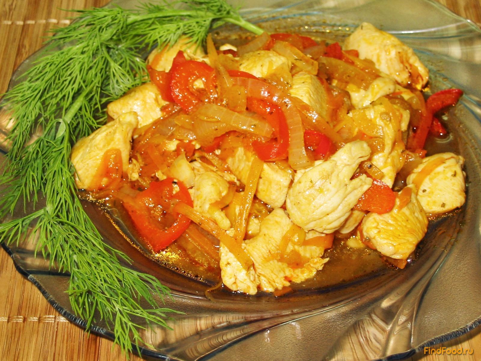 Рецепт с куриной грудкой рецепт с фото пошагово