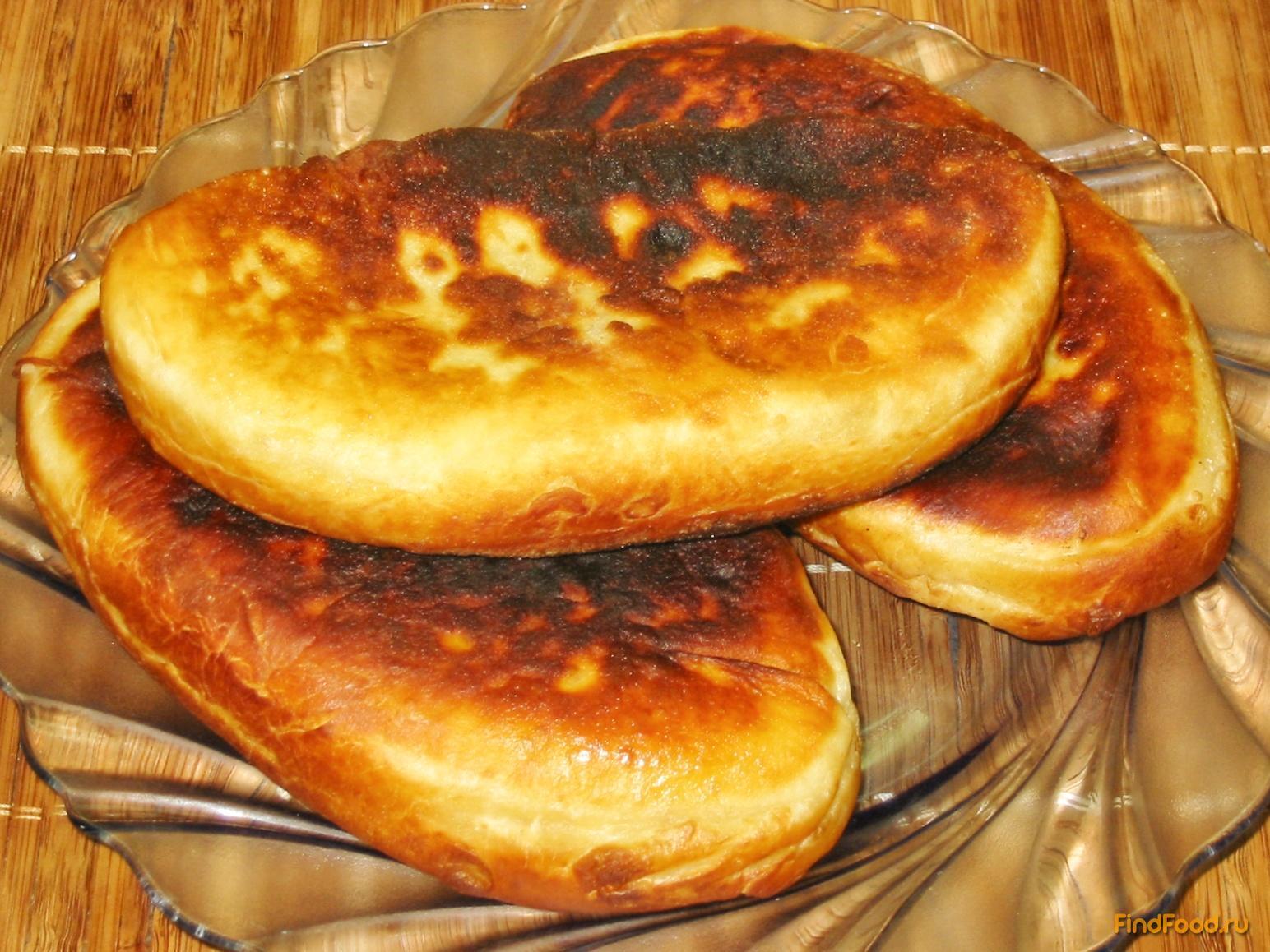 Пирожки жареные на сковороде рецепт пошагово в домашних условиях