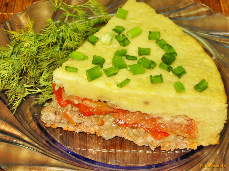 Пирог с фаршем пошаговый рецепт