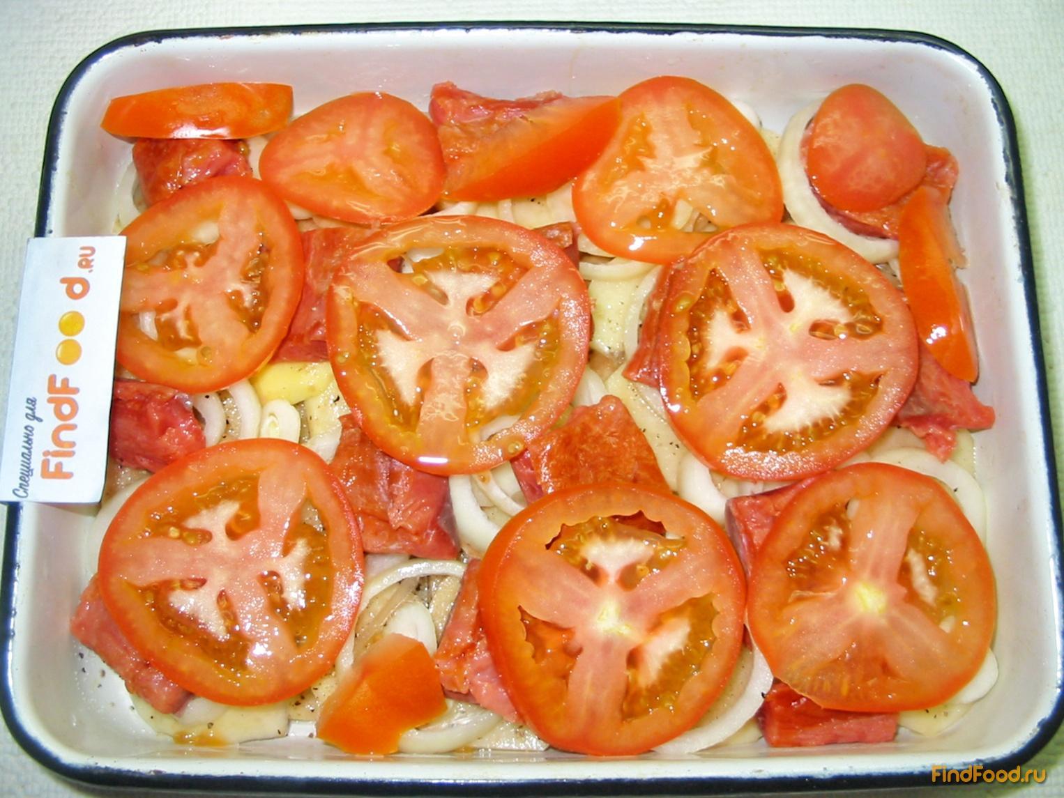 запеканка с картофелем и рыбой в духовке рецепт
