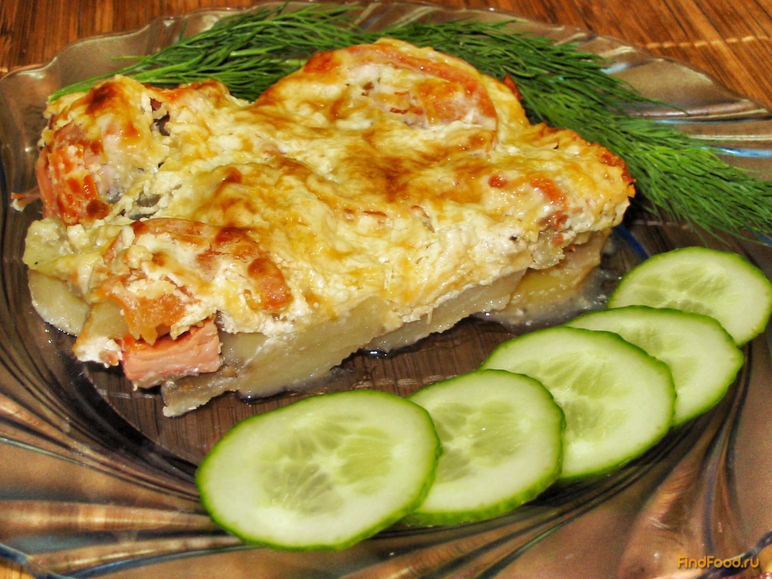 Рыбная запеканка с картофелем пошагово