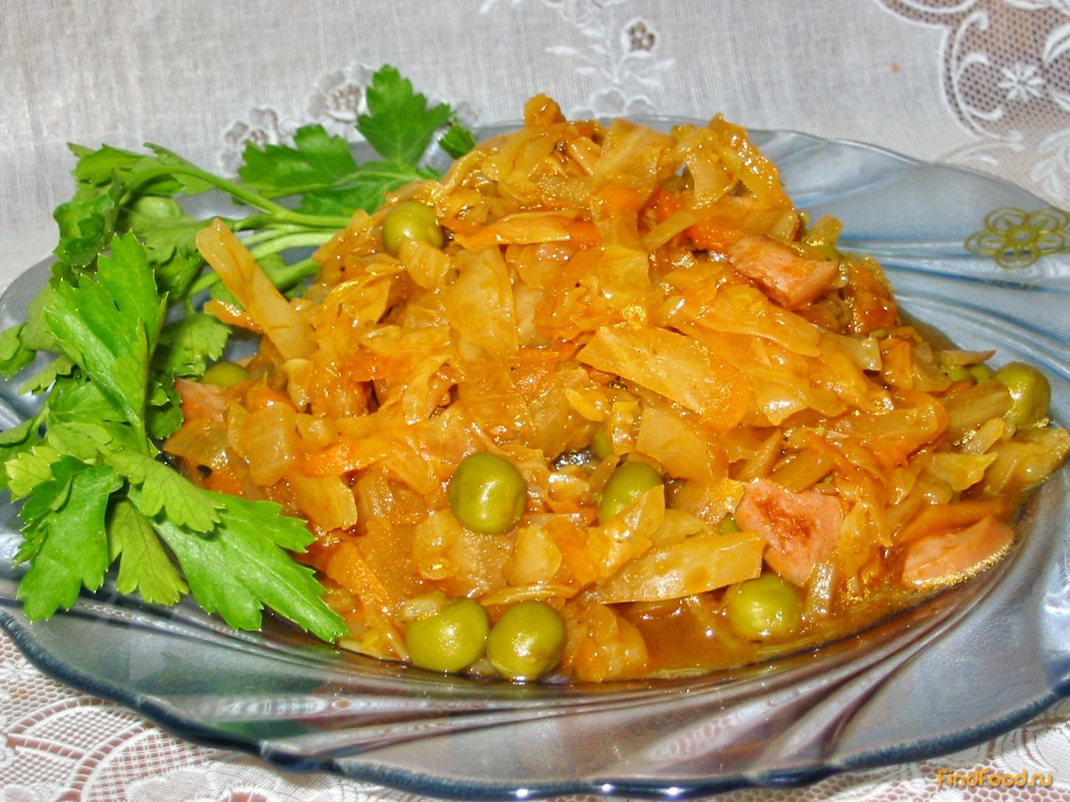 рецепт солянки с зеленым горошком