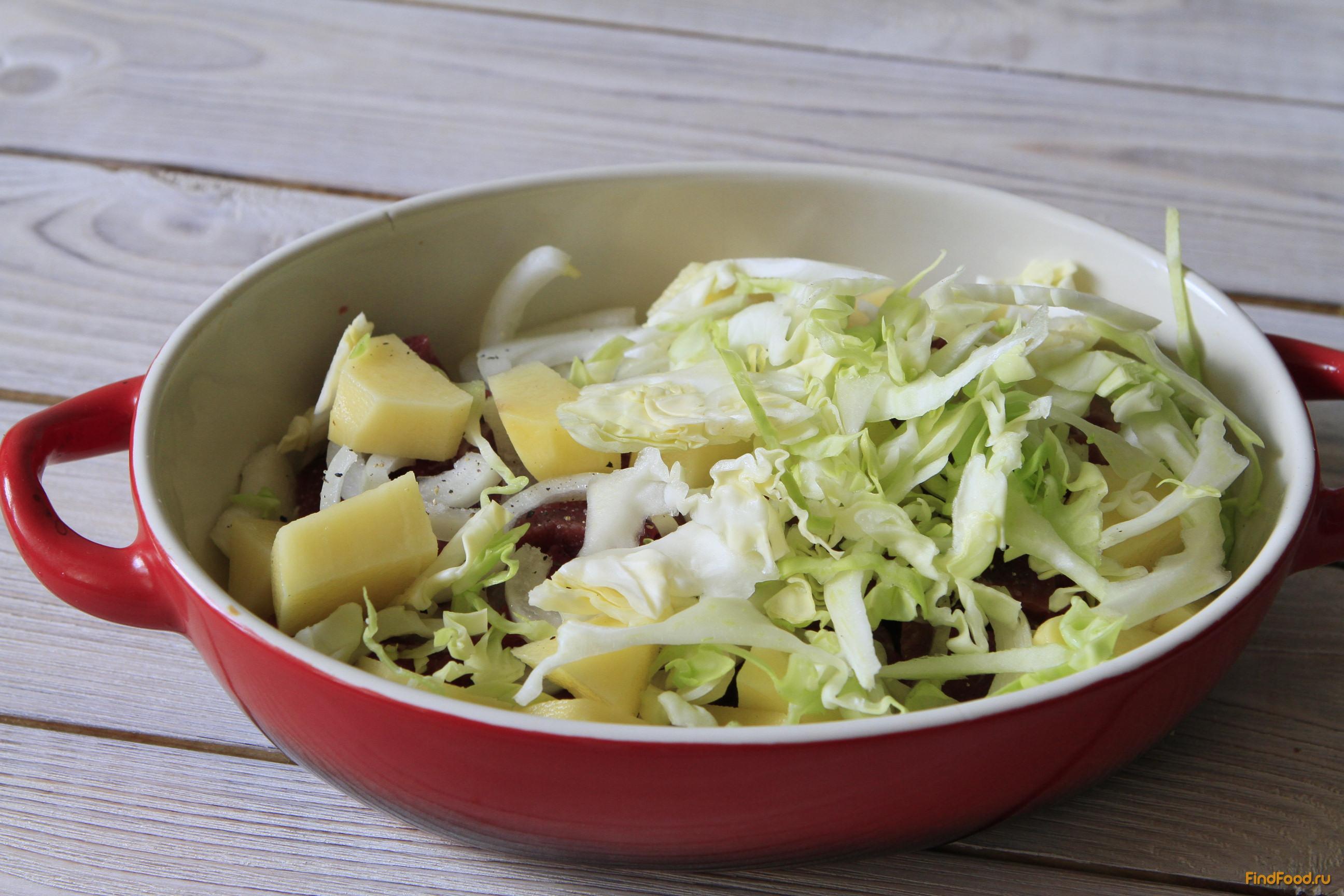 Салат с капустой и свеклой рецепт с фото пошагово