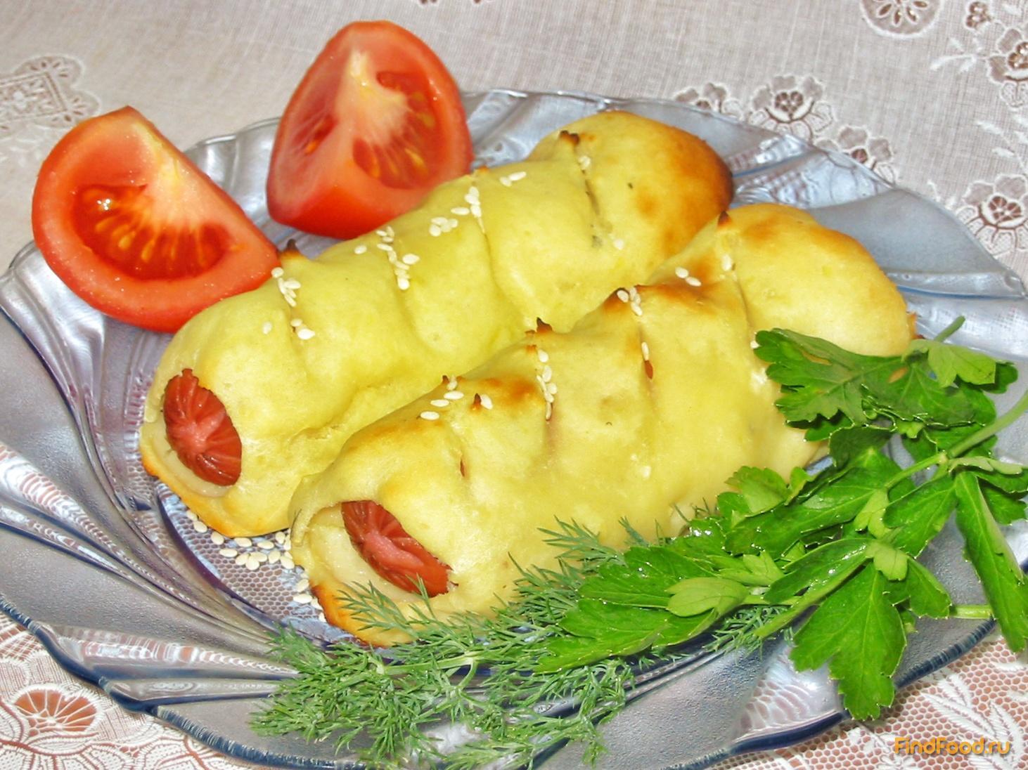Рецепт картошки с колбасками в духовке