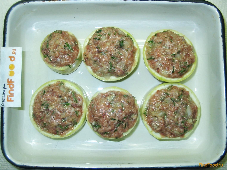 Кабачки запеченные в духовке с фаршем и сыром пошаговый рецепт